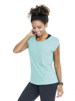 Camiseta Plus Size Fitness