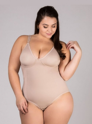 Body Plus Size Cetinete sem Bojo