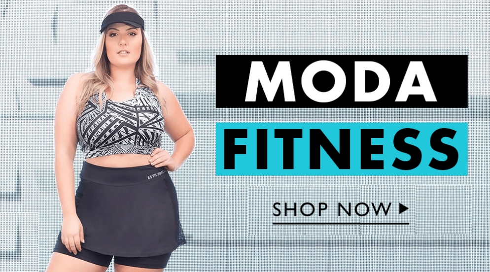 Banner Moda Fitness Plus Size