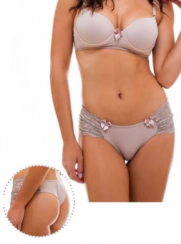 Calcinha Fio Plus Size Renda Lateral