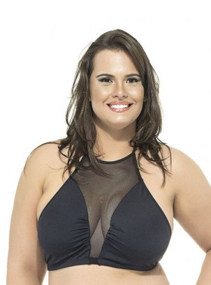 Top Plus Size Frente Unica