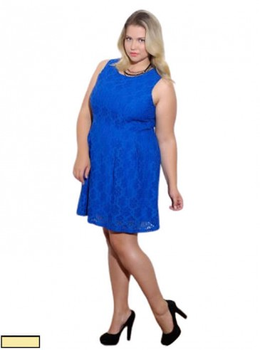 Vestido Plus Size Rendado